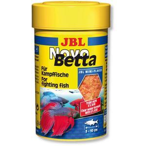 JBL NovoBetta 100 ml - Alleinfutter für Labyrinthfische z. B. Kampffische