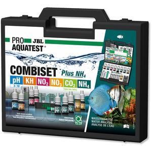JBL PROAQUATEST COMBISET Plus NH4 - Testkoffer für die wichtigsten Wasserwerte in Süßwasser-Aquarien inkl. Ammonium-Test