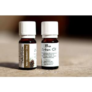 BIO Zirbenöl - Doppelpackung - 2x 10ml - 100% naturrein