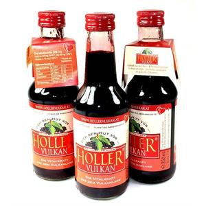 6 x 250 ml - Holler Vulkan - Vitalsaft - Schnupperpaket