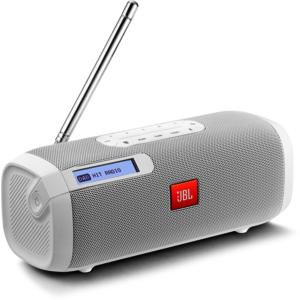 Tuner BT-Lautsprecher mit Radio weiß