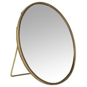Spiegel rund stehend