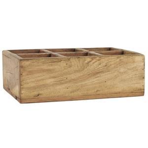 Kiste m/6 Fächern UNIKA