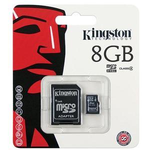 Kingston MicroSD 8GB inkl SD Adapter
