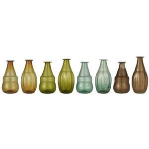 Vase 2 ass Designs 4 Farben UNIKA