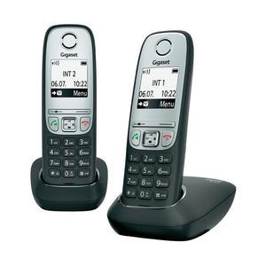A415 Duo Schnurlostelefon schwarz