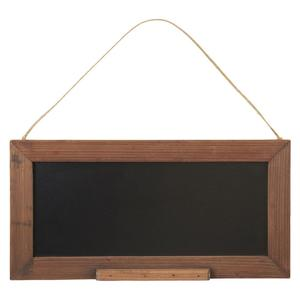Kleine Tafel in Holzrahmen