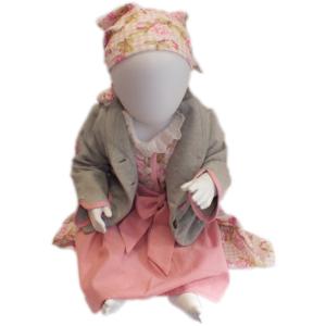 Babydirndl mit Rosa inkl. Bluse