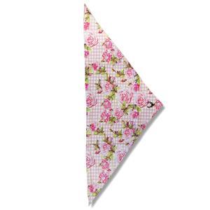 Kopftuch mit Rosenprint