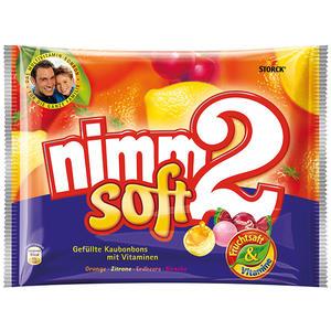 nimm2 Soft, gefüllte Kaubonbons mit Vitaminen