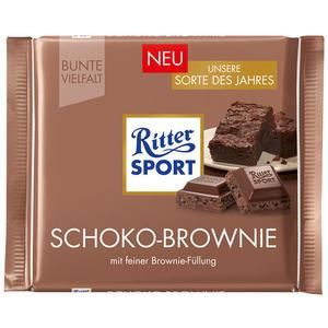 Ritter Sport Bunte Vielfalt Schoko Brownie