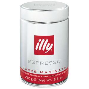 illy Espresso Caffè Macinato Mittlerer Röstgrad, gemahlen