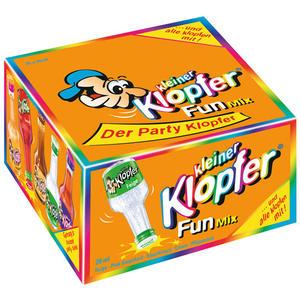 Kleiner Klopfer Fun Mix, 5 Sorten mit 15 - 17 % Vol.Alk., 25 x 20 ml