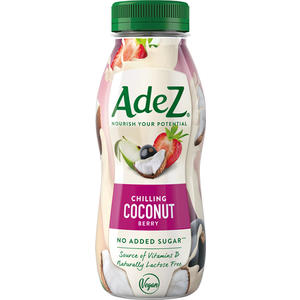 AdeZ Chilling Coconut Berry, Kokosnuss/Beeren, ohne Zuckerzusatz, PET