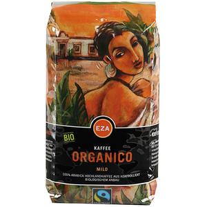 EZA Fairtrade Organico Mild, Bio-Kaffee, Ganze Bohne