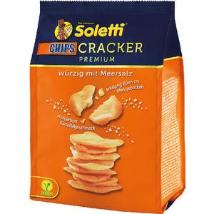 Soletti Cracker CHIPS Premium, mit Meersalz