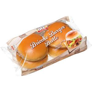 Ölz Brioche Burger Brötle, vorgeschnitten, 4 Stück