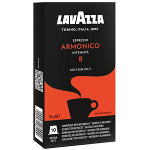 Lavazza Espresso Armonico 8, Nespresso-kompatibel, 10 Kaffeekapseln