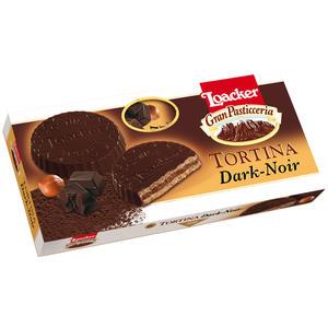 Loacker Gran Pasticceria Tortina Dark-Noir, 6 Stück