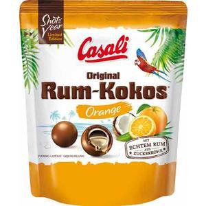 Casali Rum-Kokos Dragees Orange