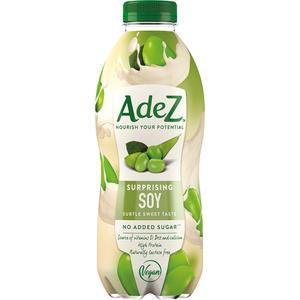 AdeZ Surprising Soy, Soja Drink, ohne Zuckerzusatz, PET