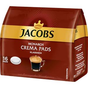Jacobs Monarch Crema Klassisch Kaffee-Pads, 16 Portionen