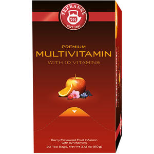 Teekanne Premium Multivitamin, Früchtetee, Teebeutel im Kuvert