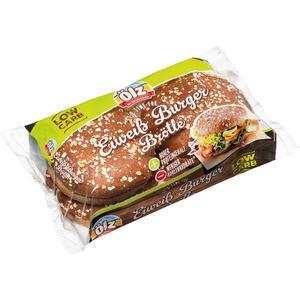 Ölz Eiweiß Burger Brötle, hoher Proteingehalt - weniger Kohlenhydrate, vorgeschnitten, 4 Stück