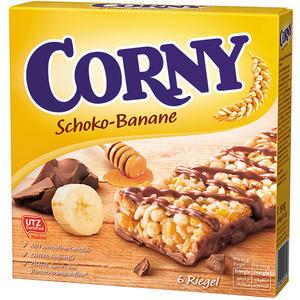 Corny Schoko-Banane Müsliriegel UTZ, 6 Stück