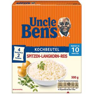 Uncle Ben's Original Langkorn-Reis 10 Minuten, 4 Kochbeutel
