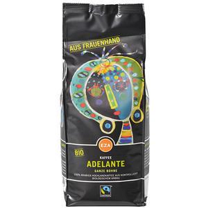 Fairtrade EZA Adelante, Bio-Kaffee aus Frauenhand, Ganze Bohne