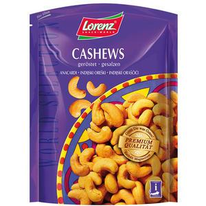 Lorenz World Selection Cashews geröstet/gesalzen