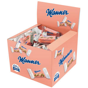 Manner Schnitten Original Neapolitaner Minis UTZ (2 Schnitten pro Portionspackung)