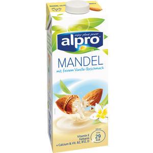 Alpro Mandel Drink mit Vanillegeschmack