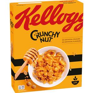 Kellogg's Crunchy Nut, mit Honig & Erdnüssen