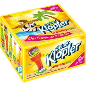 Kleiner Klopfer Sunshine Mix, 5 Sorten mit 15 - 17 % Vol.Alk., 25 x 20 ml