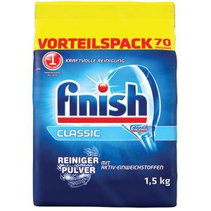 finish Classic Reiniger-Pulver, Basis-Reinigung für ca. 70 Spülgänge