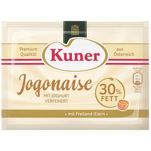 Kuner Jogonaise, 30 % Fett, mit Freilandeiern und Joghurt