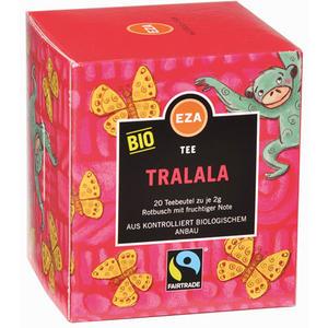 Fairtrade EZA Bio Tralala, Rotbuschtee, Teebeutel im Kuvert