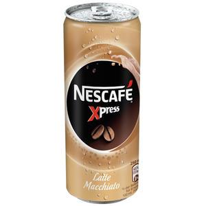 Nescafé Xpress Latte Macchiato, Eiskaffee, Dose