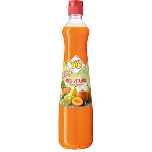 YO Klassik Multivitamin-Fruchtsirup, PET