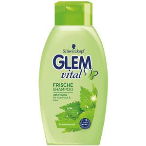 Glem Vital Frische-Shampoo Brennnessel, 48h Frische für Kopfhaut & Haar