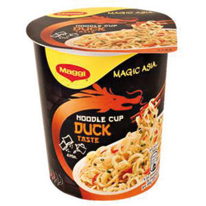 Maggi Magic Asia Noodle Cup Duck, Instant Nudel Snack, 1 Portion