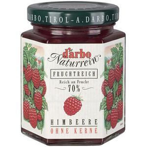 Darbo Fruchtreich Himbeer-Konfitüre (70 % Frucht)
