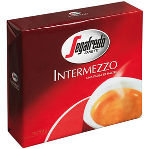 Segafredo Zanetti Intermezzo, gemahlen (2 x 250 g Pkg.)
