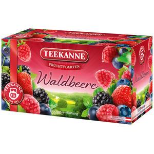 Teekanne Früchtegarten Waldbeere, Teebeutel im Kuvert