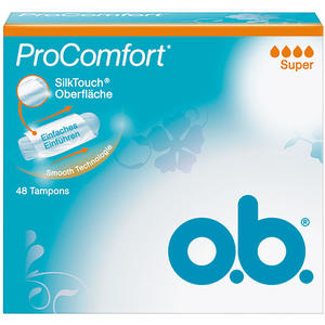 o.b. Pro Comfort Super Tampons