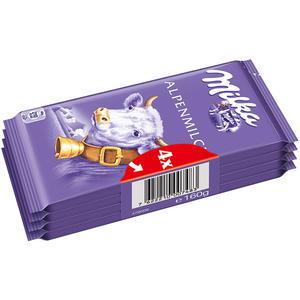 """Milka Alpenmilch """"Die Kleine"""", 4er Packung"""