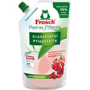 Frosch Reine Pflege Granatapfel, Pflegeseife, Nachfüllbeutel (ohne Pumpe)