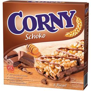Corny Schoko Müsliriegel UTZ, 6 Stück